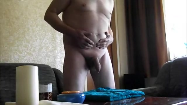 My leaking uncut Cock Homemade videos asked wife to fuck other men