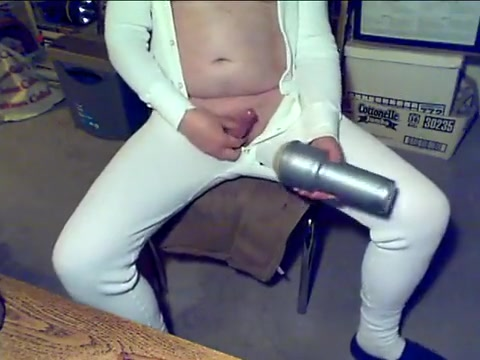 Daddy in unionsuit with fleshlight Debs deep throat movie