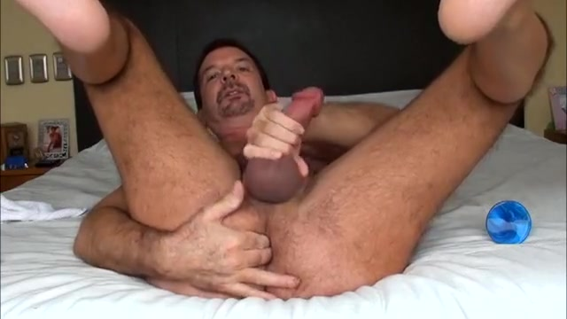 Playing with my blue beaded dildo for Sxyblktop ahoyhoy best porn blogspot