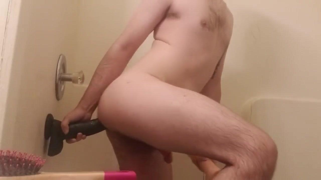 Wanna see more? Milf rides huge black dildo