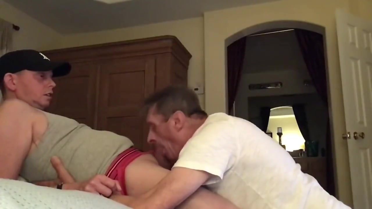Daddy sucks my cock and swallows my load as the sun comes up ass kicked by a girl