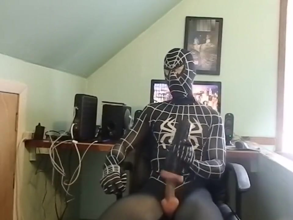 Spiderman shoots a huge load 28 aa boobs nude