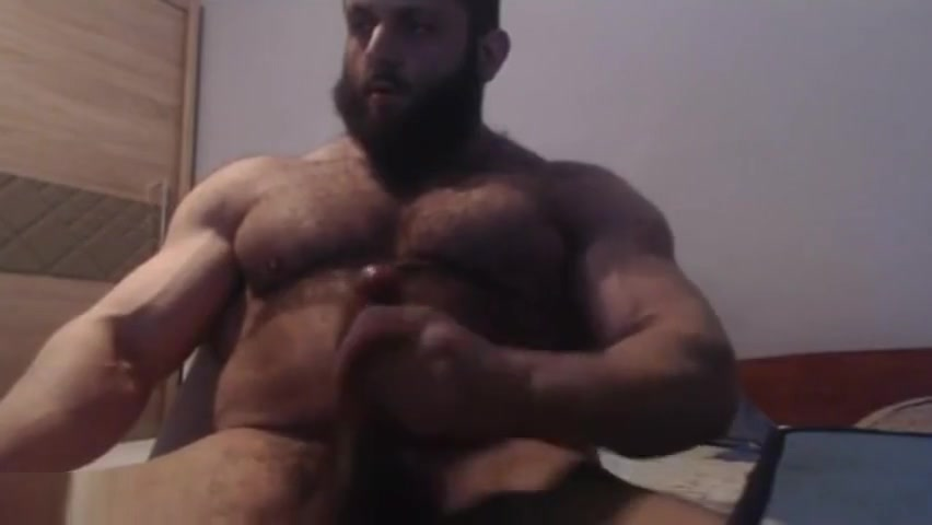 Hairy Muscle Beast Jerks His Cock Foll Hd Xxe