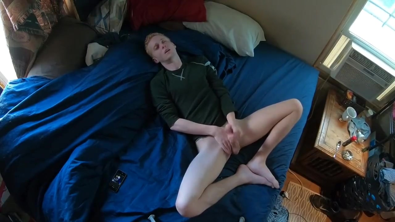 Sexy Blond Boy Named Flint In Great Position + loud moaning Sex japanese school porn naked