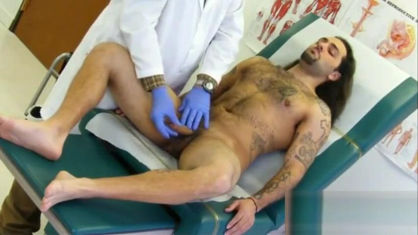 Long Haired Latino Medical Examination Erotic free spanking