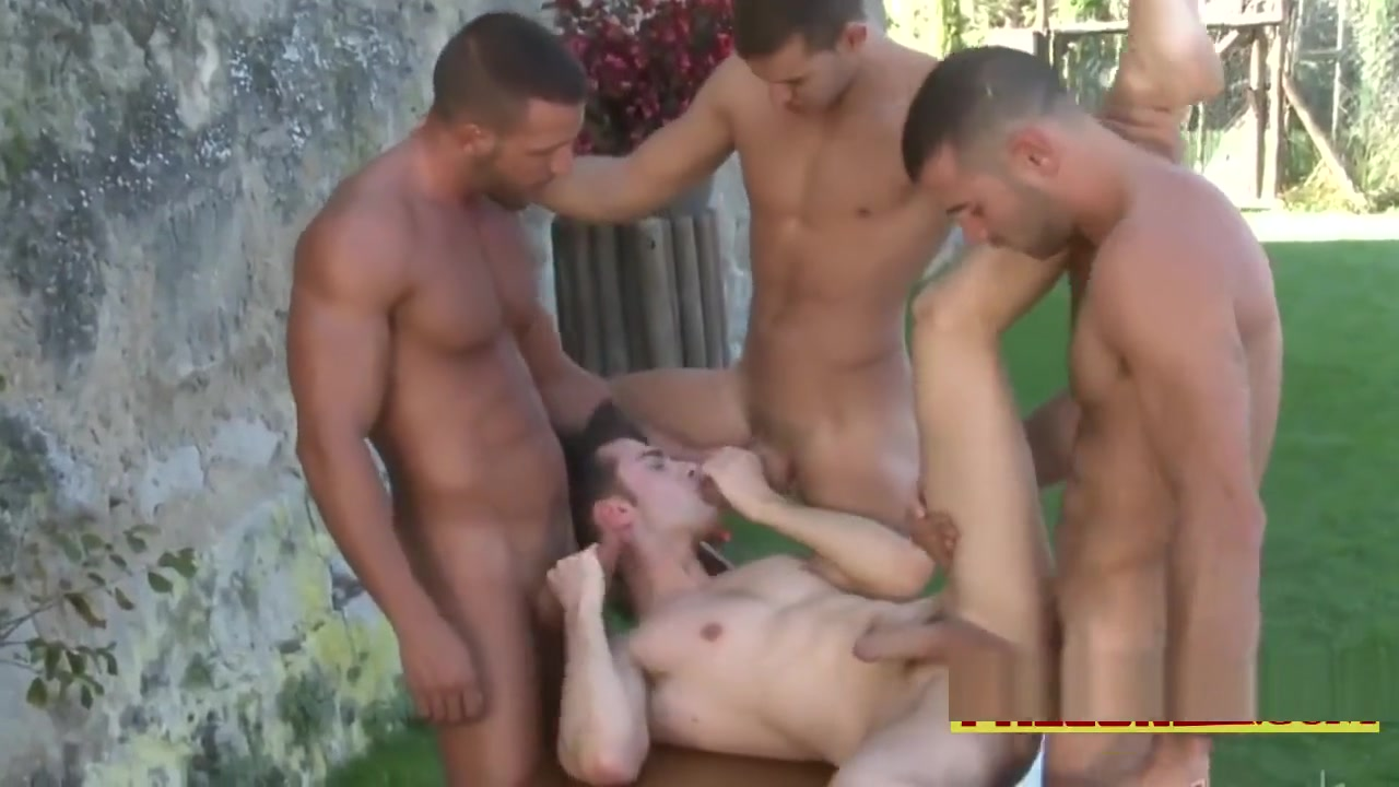 Jumbo boys feasting on a gay slut like never before Amatuer gay blowjob