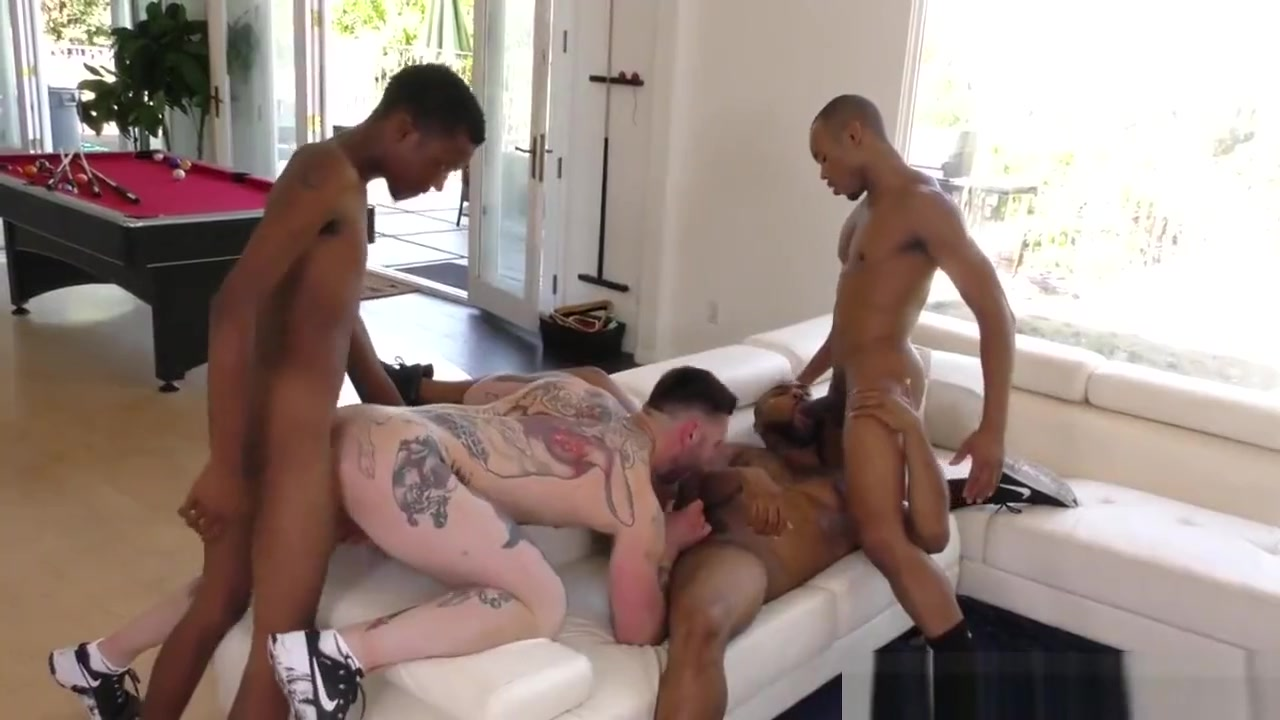 White gay boi gangbanged by black men Busty veronica video