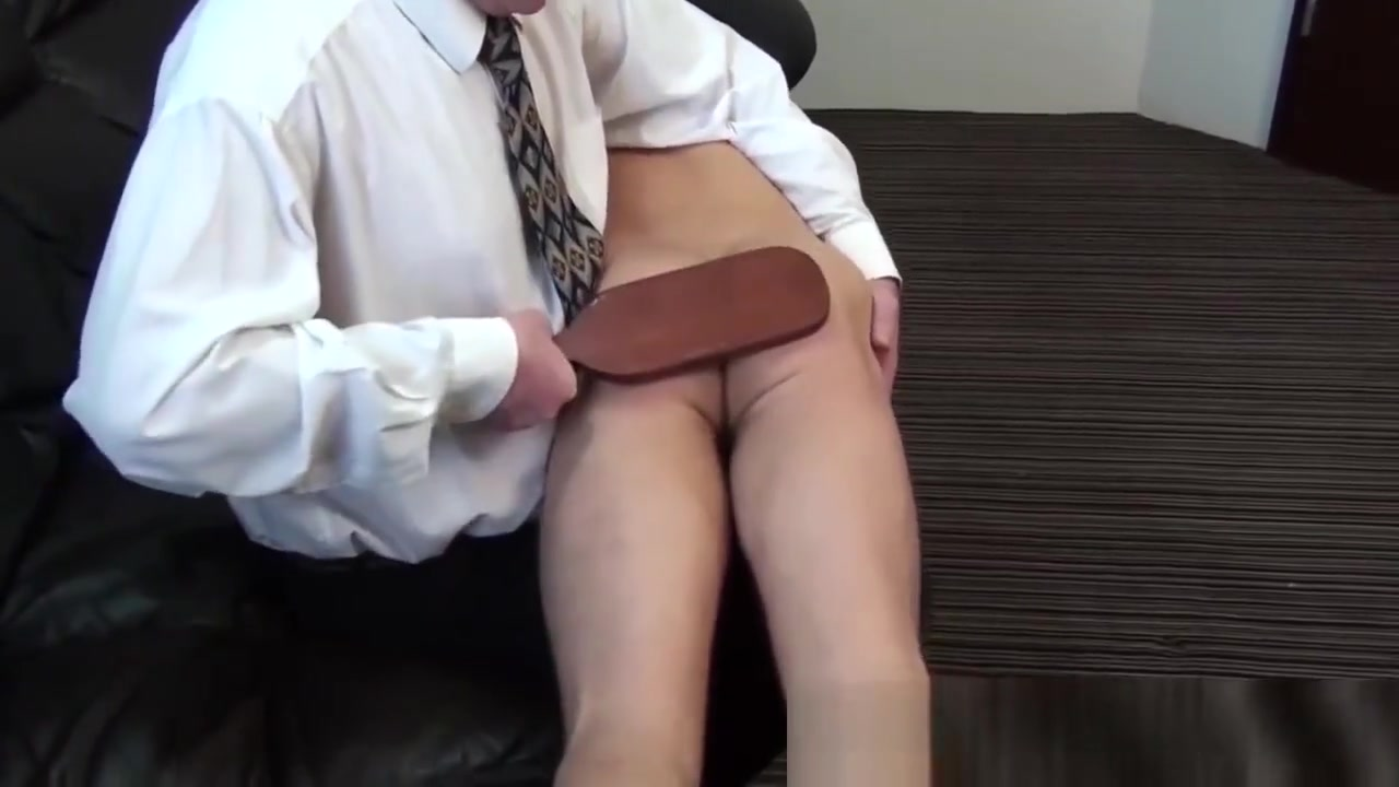 Sporty jock Cal is spanked, paddled and belted Hot lesbian sex red tube