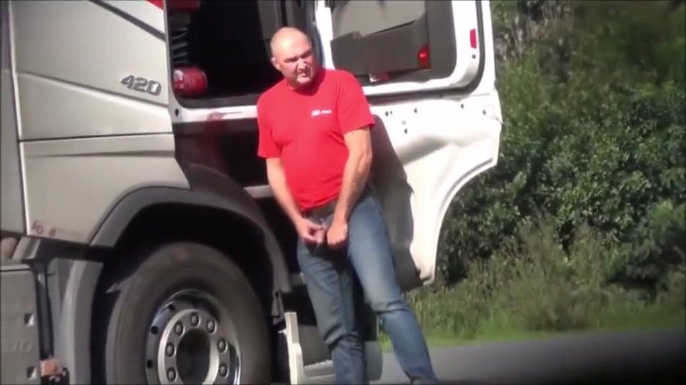Horny Trucker two scenes Hot Selma Sins masturbates and fuck hard