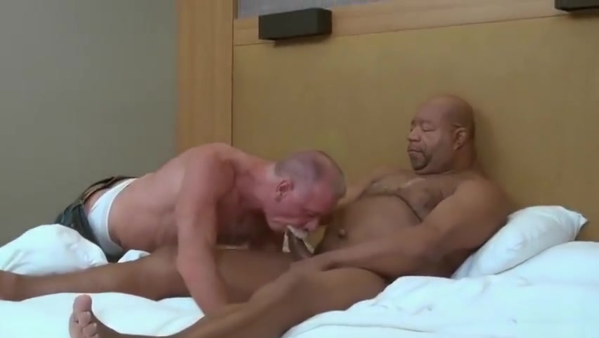 Mature daddy fucked by black grandpa bear A mexican man