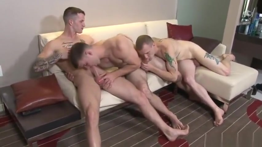 Muscle gay threesome with cumshot Pyramid electricity documentary