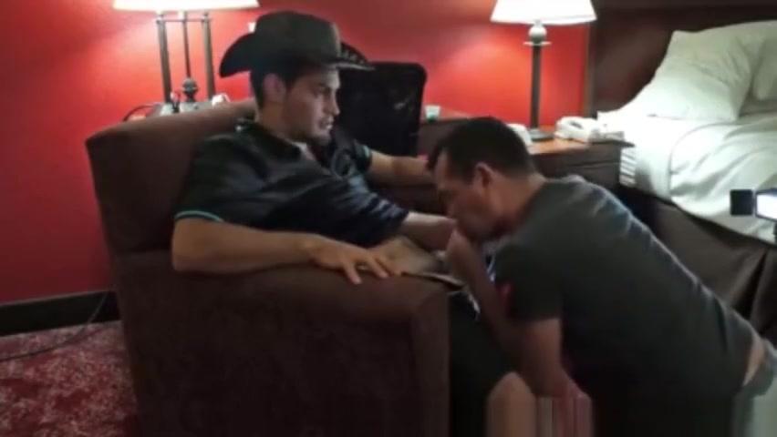 Juicy cowboy Detailed emo sex scene