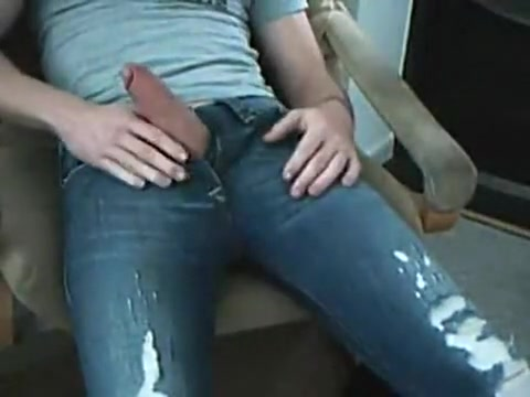 horny morning in tight diesels Blonde fucked in pussy