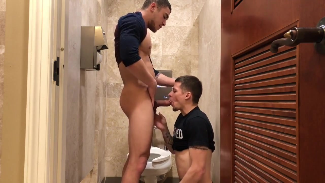 Bathroom Stall Fuck Free High Definition Anal Porn