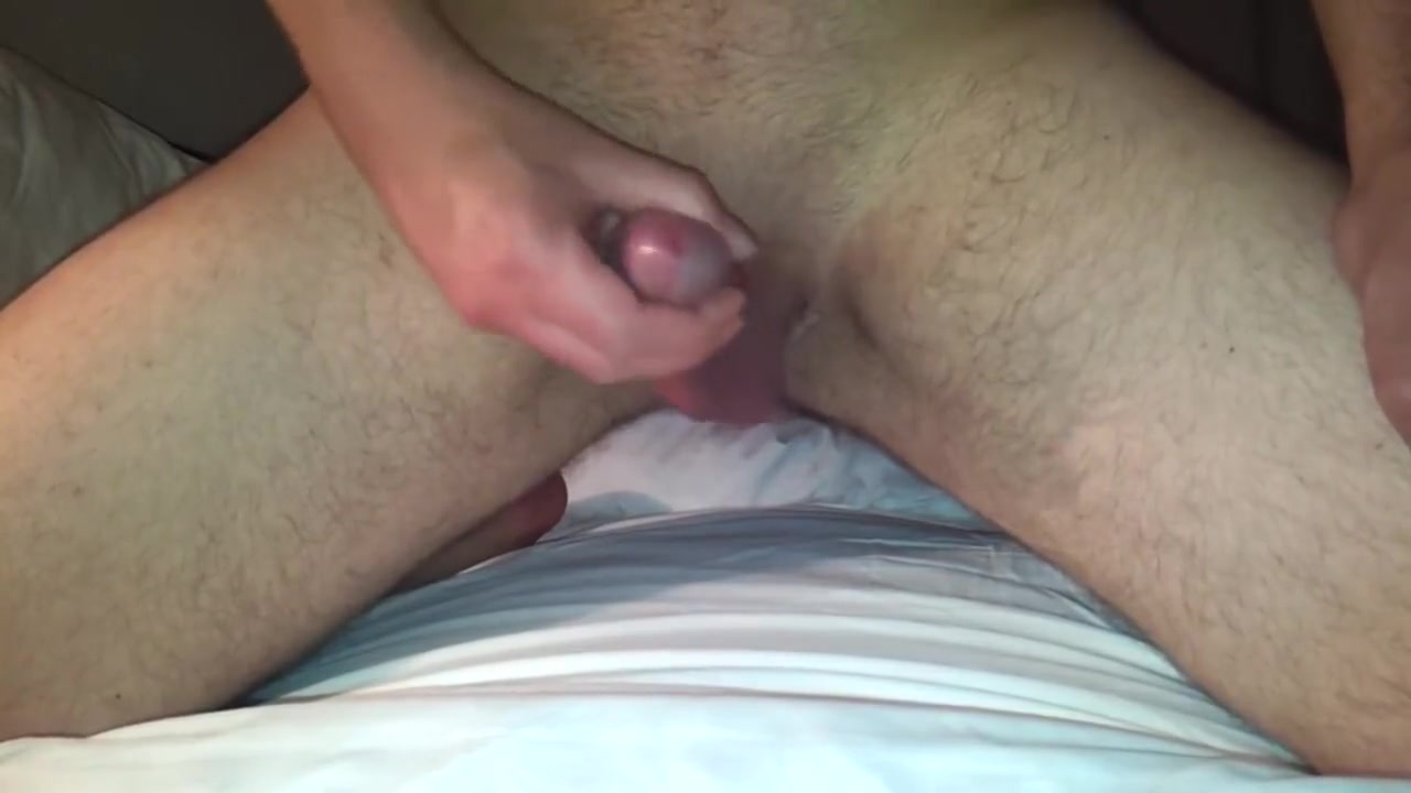 playing with my curved cock man and women sexing