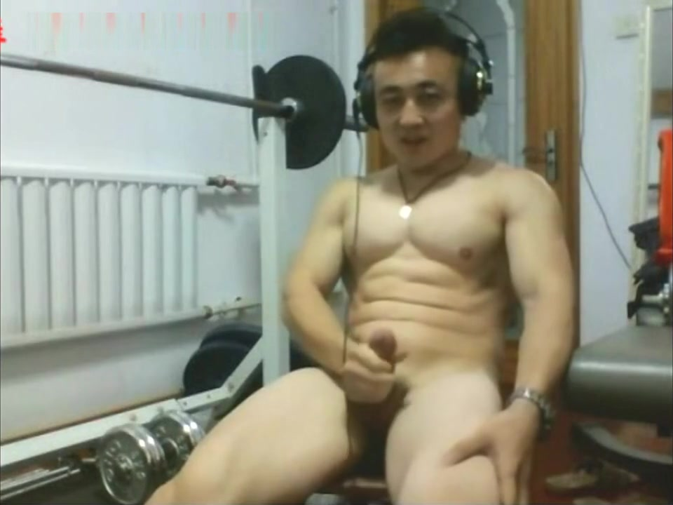 Chinese muscle man solo 1 the big butt ballet