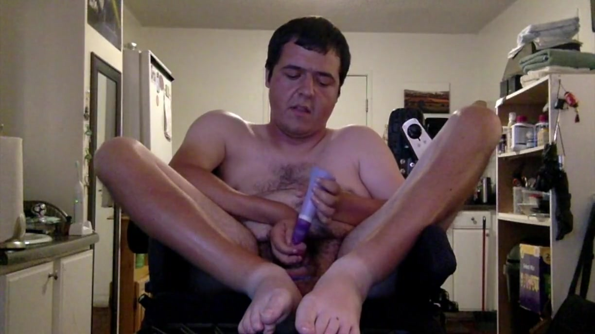 Lots of orgasms in my wheelchair Gorgeous Lesbian Dusty Gets Hairy Twat Fingered