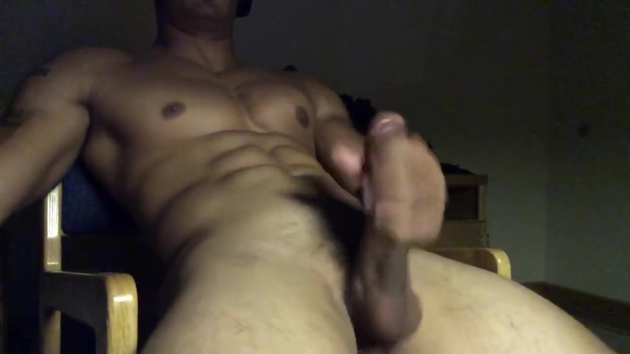 Big cock gets stroked to cumshot Ray Cooner Sex