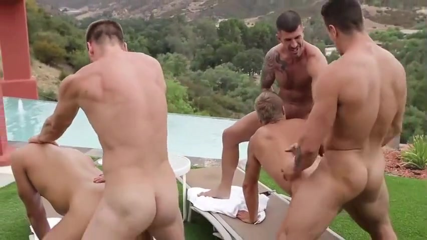 Muscle males bunch Tits Sex Tube