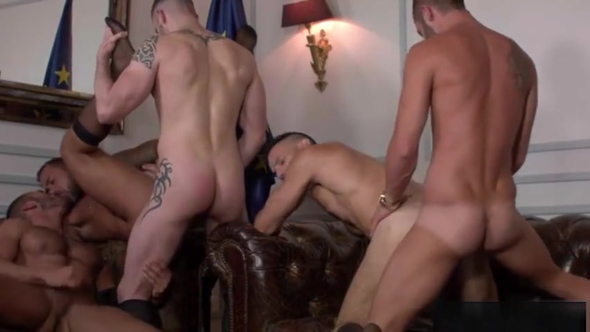 Muscle boy anal and cumshot Dean gay james