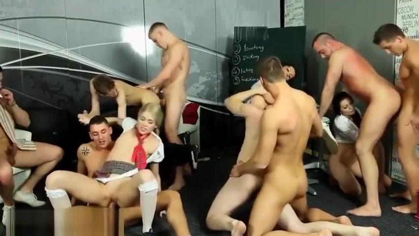 Yummy boys group fuck Raven porn