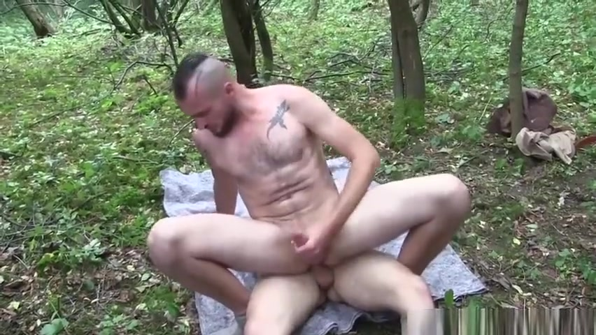 Jerry and Dick Bareback Flip Fuck Girl rubbing penis in porn