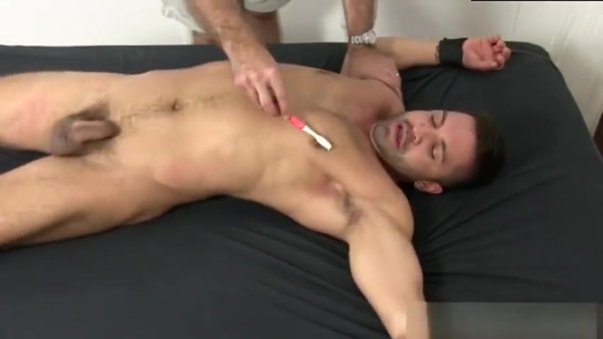 Dominic Pacifico Tickled Naked Bondage furniture triange