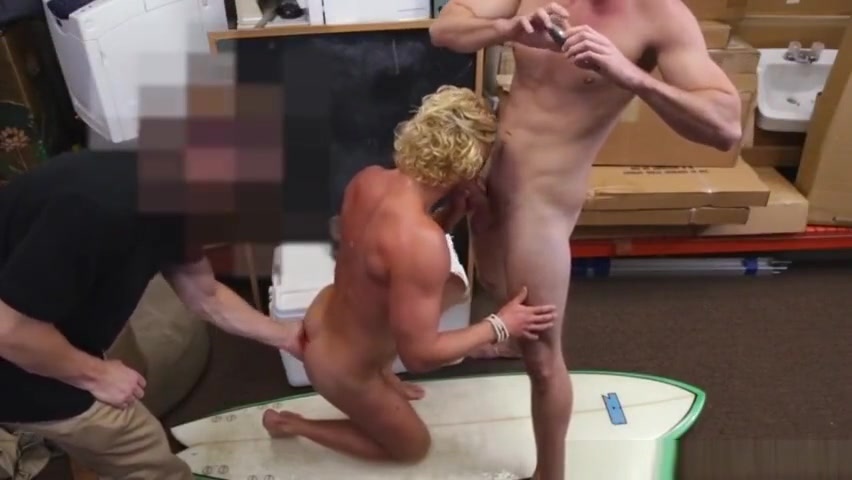 Pawnshop surfer hunk assfucked in storageroom Rhonda mishka