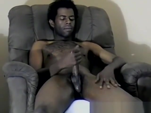 Hung black dude Jay pumps a load of cum out of his huge cock linda leigh porn film