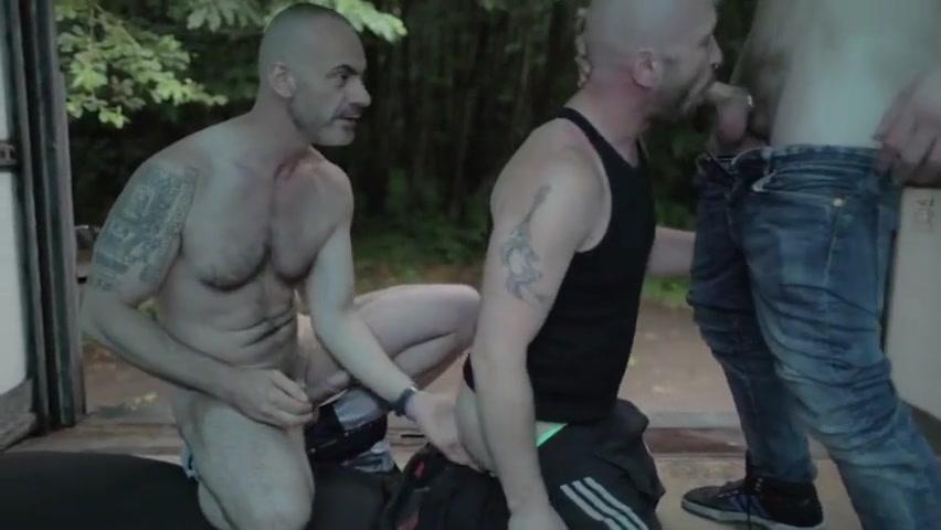 HARD & READY having sex in the public nude