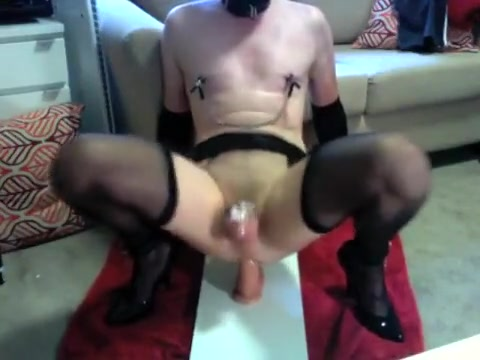 Chastised little sissy having way too much fun ! Christy Is Whipped And Fucked Into Submission