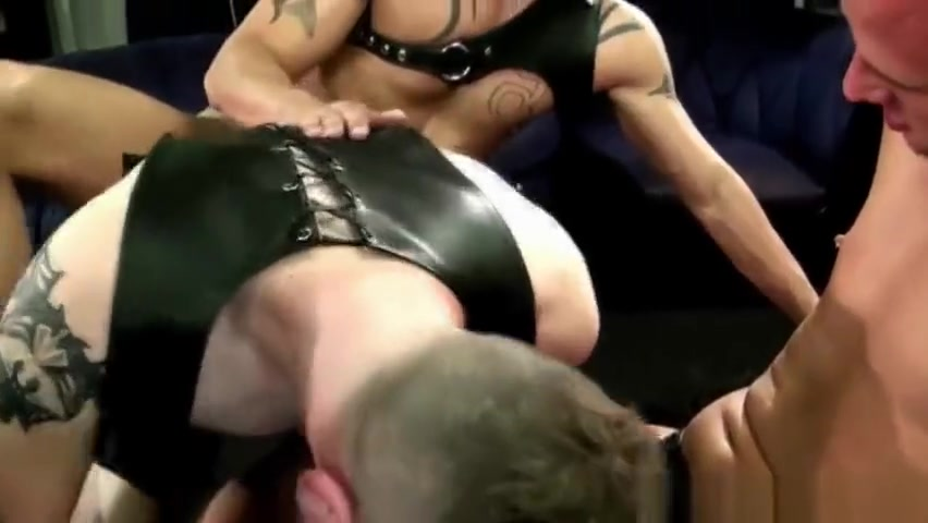 Leather stud ass creamed all kinds of girls bbw anal