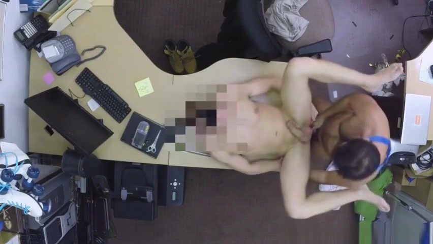 Assfucked pawnbroker rimmed by customer over 30 muscle men sex