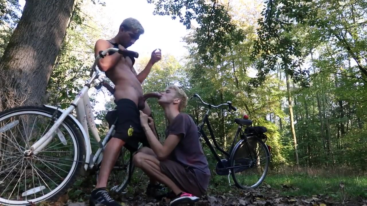Blowjob In the Forest After A Bike Ride What does not dating material mean