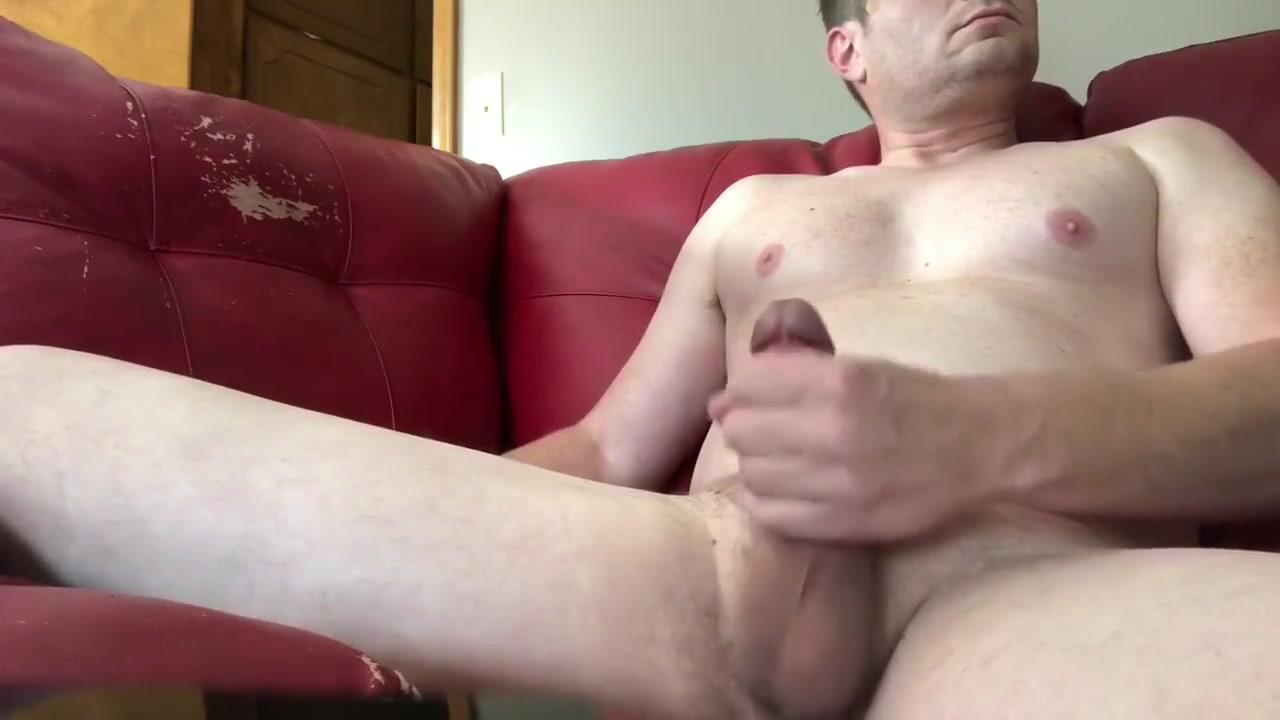 Stroking my big cock and cumming on cam filme porno big dick