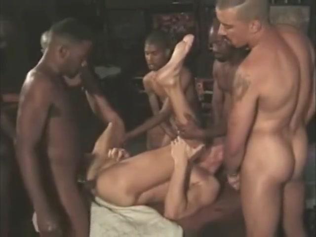 black gangbang white boy Parents make a porn video
