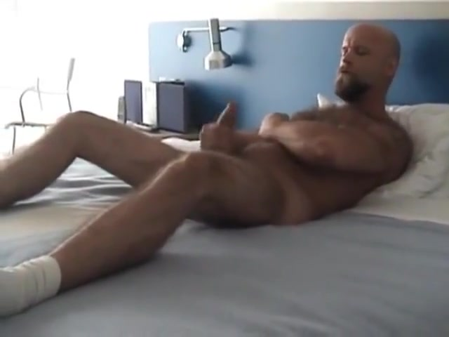 hairy stud jerks his cock naked girls in cartoon