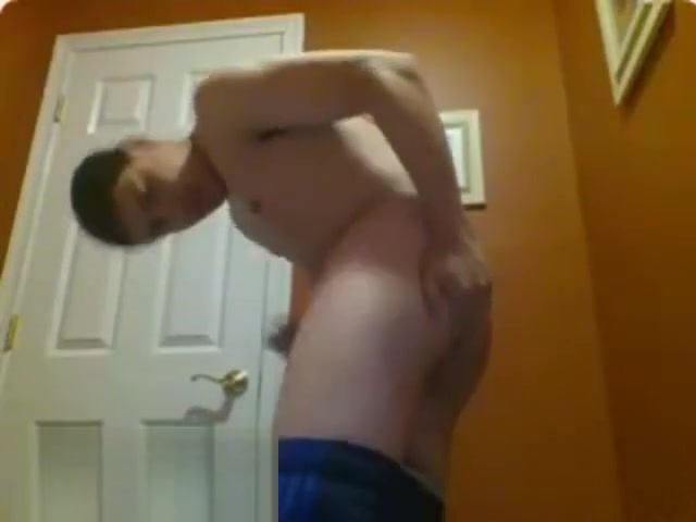 CUM36: Teen shows butt and cum Wat to talk about on the phone