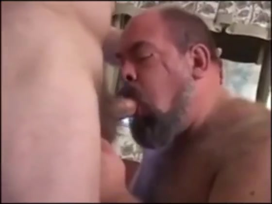 Big Hairy Chub Bear and Daddy have some fun. are my boobs too big