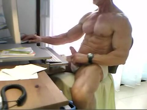 muscle dad Lez in party sex