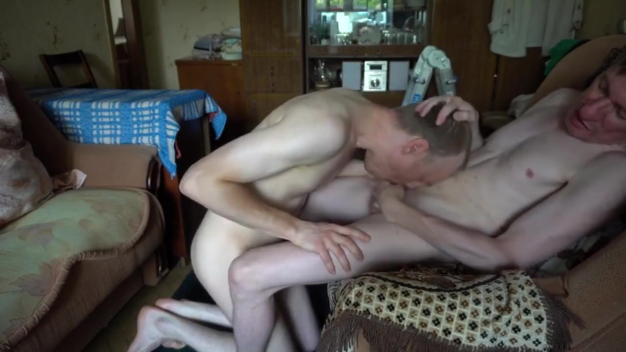 LanaTuls - Sucking Daddys Big Cock, And Then Fucked Raw in doggy. Gay Sex. Signs that she wants you back