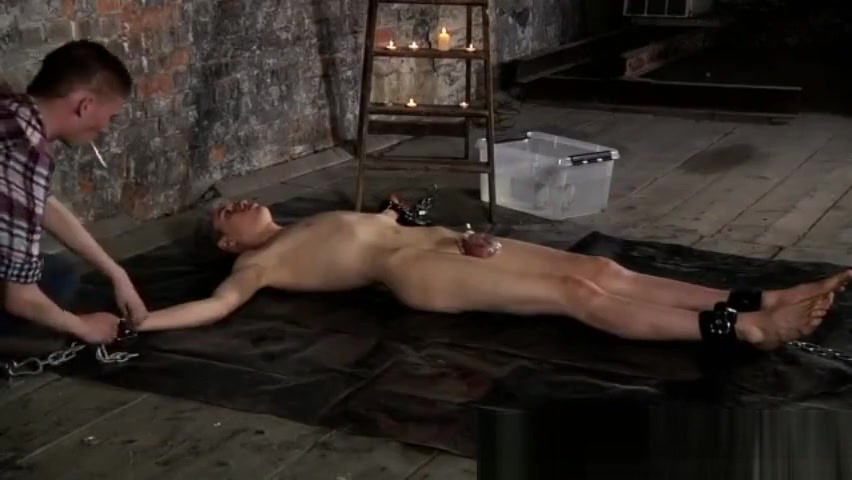 Boys gay sex pan xxx Chained to the warehouse floor and incapable to Skinny mature cougar 45 pussy