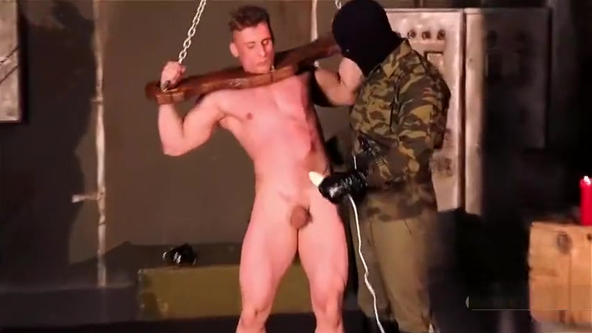 Russian soldier captured and sold to SM master for sexual fun (No cum) clara morgane free porn video