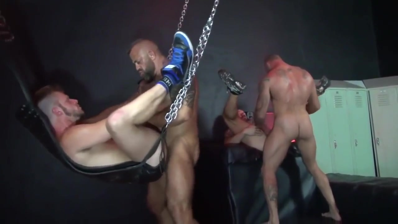Orgy at the Sex Club (PPV) Leather micro bikinis