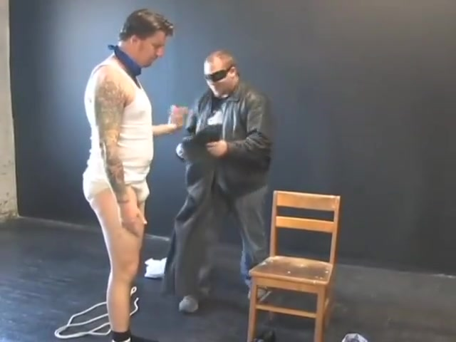 BG Hot beefy executive bound, gagged and stripped sex with a girl and a boy