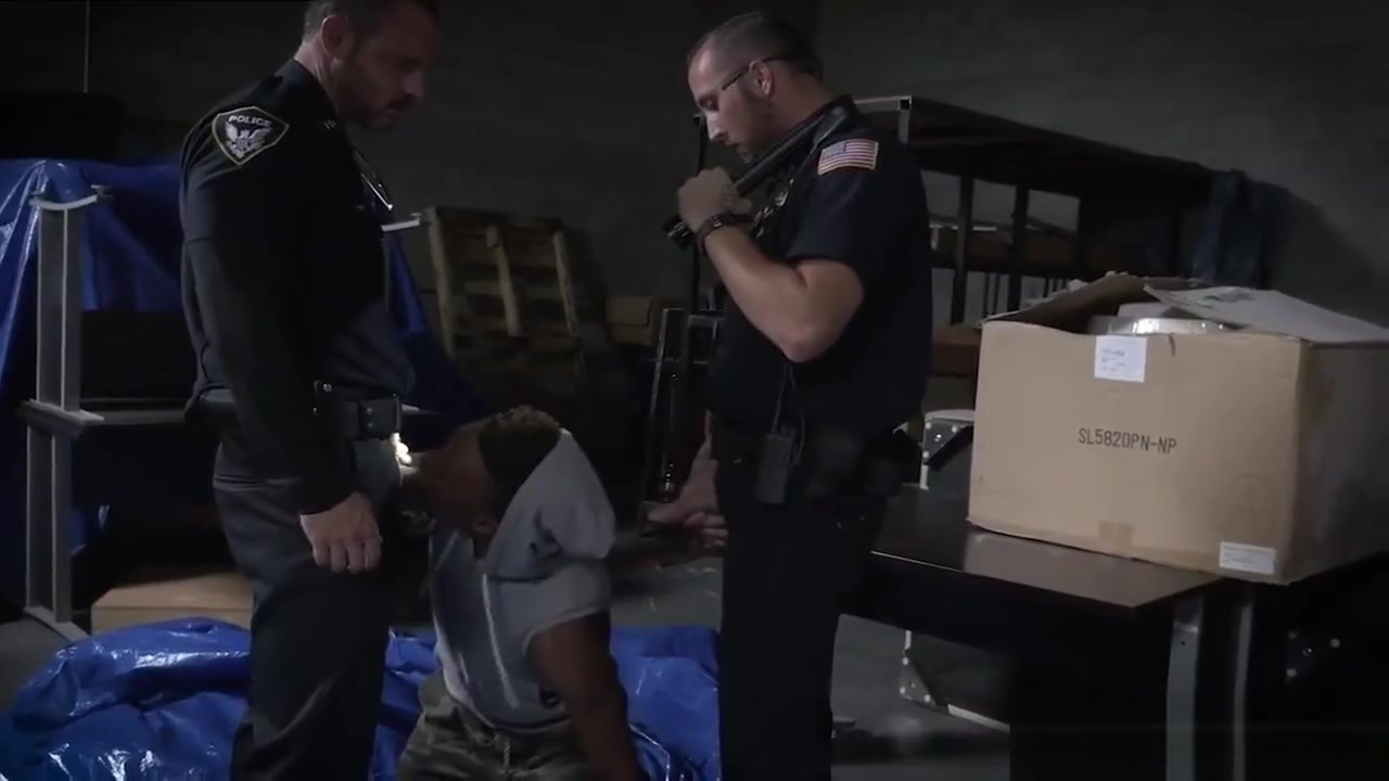 Gay cop physicals videos xxx Breaking and Entering Leads to a Hard Arrest chinese asian porn asian chinese tube 1