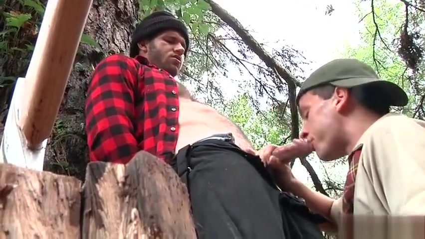 Muscular hunk wanks himself off Blonde chick big tits throat fuck