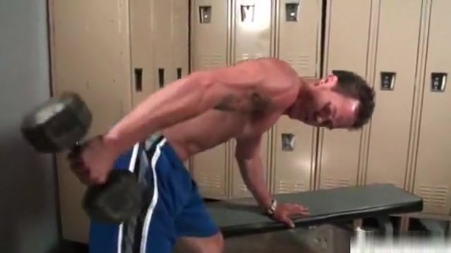Beefcake hunk Dean wanking his big stiff boner in locker room 1 Mia khalifa full hd