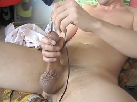 New toy again! Electro dildo... Pam giving tommy a blowjob