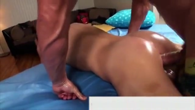 Turned straighty masseur ass fucked perfect pussy in porn